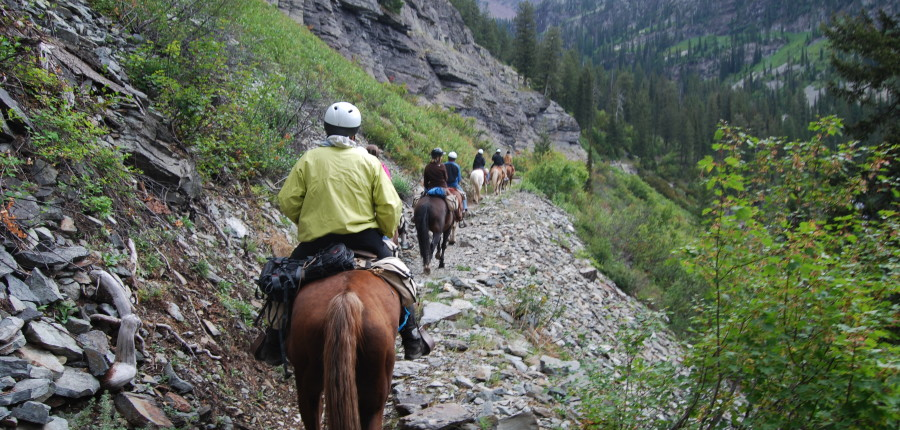 Lake McDonald Trail Rides